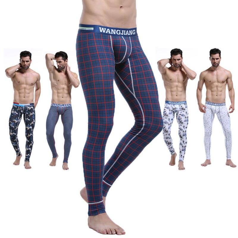 Men\'s Winter Comfortable Low-waist Cotton Thermal ...