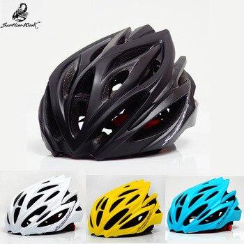 2017 nova Unisex Capacete Da Bicicleta À Prova de Vento Bicicleta Capacete de Ciclismo EPS + PC 23 Saídas de Ar Cabeça Proteja Capacetes 57- 61 cm Campeão Capacete
