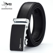 [DWTS] Belt Male Genuine Leather Strap Belts For Men Automat