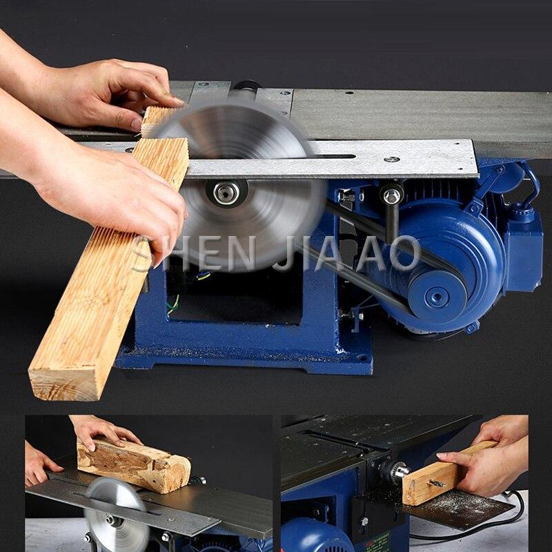 MB150 multi-fonction électrique établi machines à bois électrique rabot plat Table de rabotage travail du bois scie Machine 220 V