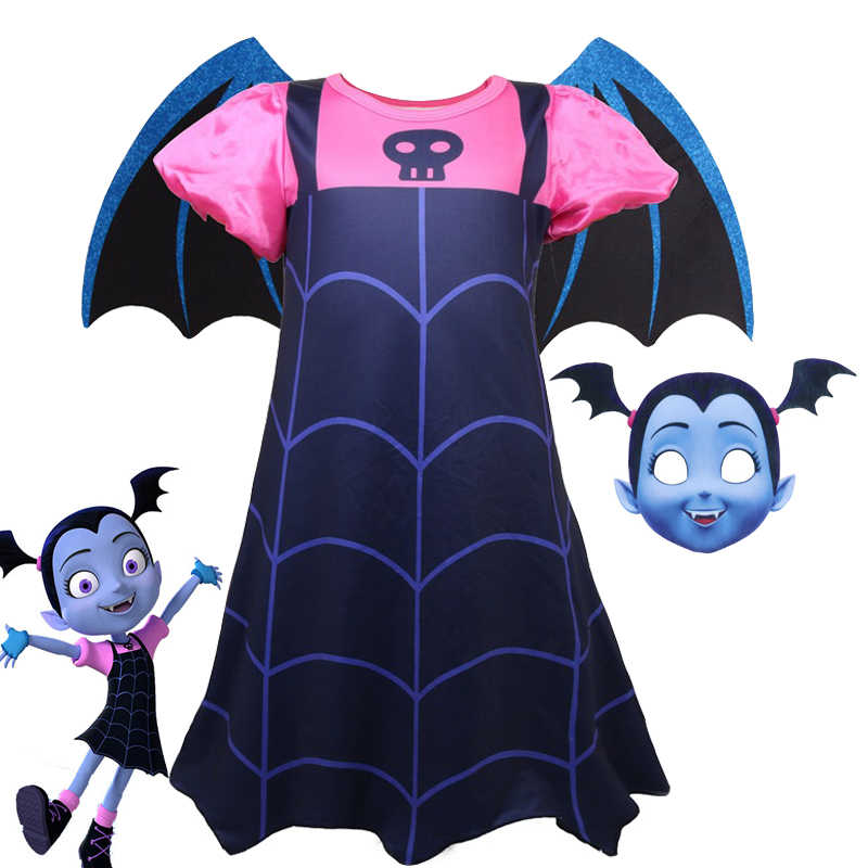 1b615b69299 Detail Feedback Questions about Girls Vampirina Costume Vampire ...