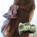 2016 New Bowtie Crab Hair Clip Trendy Claws Ponytail Hair Ornaments for Women Hair Accessories  Girl Hairgrip Ponytail Holder