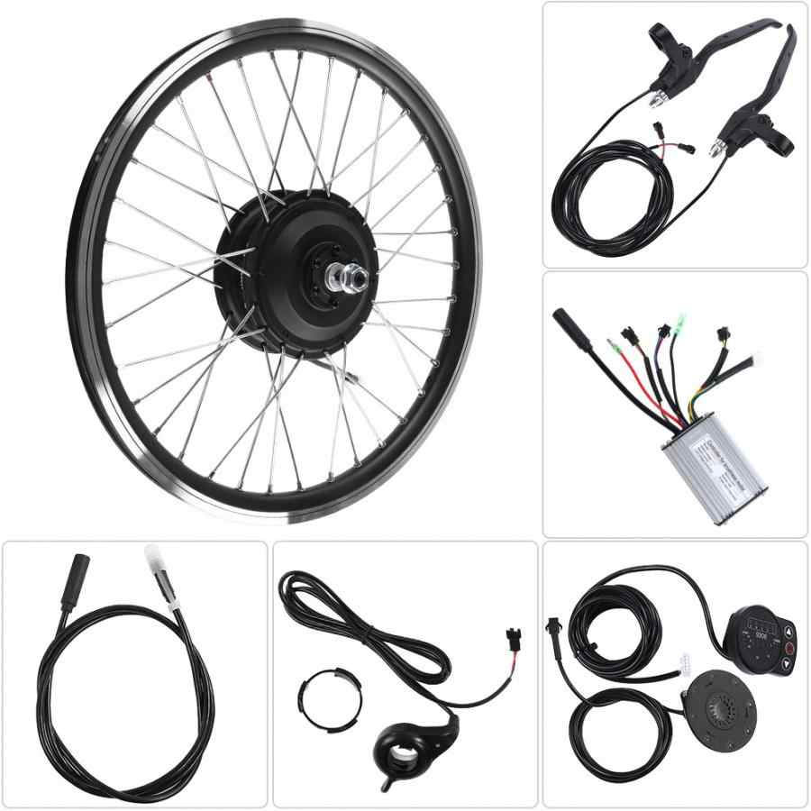 Bicycle mountain bike modified electric kit 36V/48V 350WKT900SLED instrument wheel size 26 bicycle modification equipment