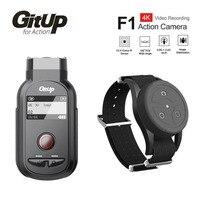 Новый GitUp F1 Wi Fi 4 К 3840x2160 P Спорт действий Камера видео регистраторы Ultra HD промежуток времени открытый видео Регистраторы W/Remote Управление