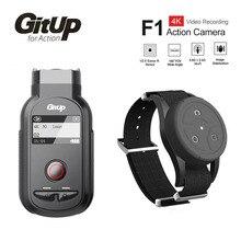 Nowy GitUp F1 WiFi 4K 3840x2160p Sport kamera akcji wideo kamera na deskę rozdzielczą Ultra HD Time Lapse rejestrator wideo na zewnątrz W/pilot