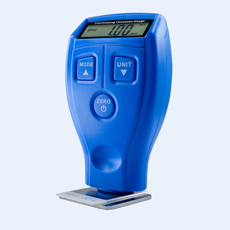 Top selling Portable Mini Digital Thickness Gauge Meter Car Painting Coating Tester GM200