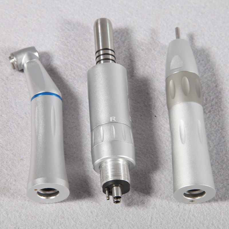 Dental Slow Low Speed Handpiece KIT Contra Angle Air Motor Straight Inner Water Spray Brush Motor dental Lab micromotor polish deasin new arrival inner and outer waterway dental electric motor straight contra angle handpiece