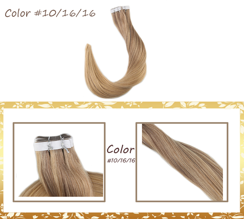 Weft Stop118 Blonde Remy 19