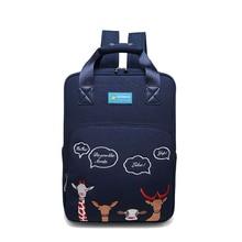 Women Backpacks For School Teenagers Girl Cartoon Embroidery Backpack Female Stylish Bookbag Mochila Lady Knapsack 2019 Hot Sale