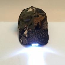Adjustable Climbing 5 LED lamp Cap Battery Powered Hat With LED Light Flashlight