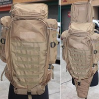 Outdoor Molle Militray Airsoft Rifle Backpack Mountaineering Travel Camping Hiking Fishing Bag Free Shipping