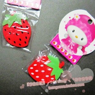 wholesae cartoon eraser/free shipping Wholesale 100pcs/lot Eraser so hot fruit no 12