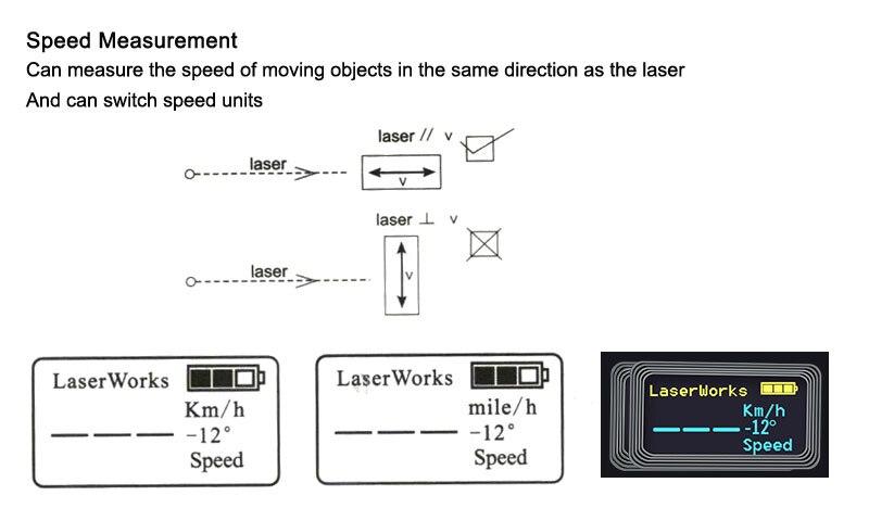 Longo alcance noite caça mini laser rangefinder