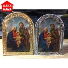 Европейский стиль, Арка священного экрана, украшение Иисуса,, религиозная икона, подарки, украшение для дома, рождественский подарок