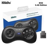 Original 8BitDo M30 2.4G Wireless Gamepad Game Controller Joystick for The Sega Genesis and Sega Mega Drive Sega Genesis