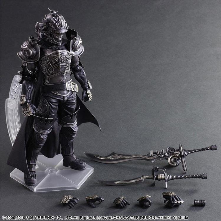XINDUPLAN Play Arts Kai Final Fantasy XII Gabranth Movable RPG PS4 Action Figure Toys Brinquedos 28cm Collection Modelo 0473
