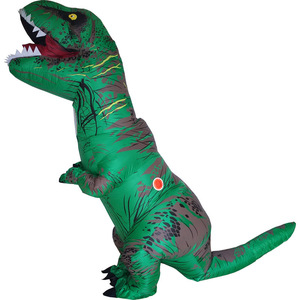 Image 3 - T REX Costume inflatable dinosaur costume For Anime Expo traje de dinosaurio inflable Blowup disfraces adultos costume for adult