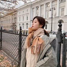 2018 Winter Fashion Scarf For Women Brand Designer Shawl Cashmere Plaid Scarves Blanket Wholesale Dropshipping  5 Colors