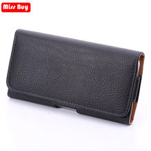 Universal Phone Pouch Leather Cover For huawei P20 honor V10 10 Lite 7 6 Plus 8 V8 9 V9 Nova 3 3i 2 Waist Case Holster Bag Belt(China)