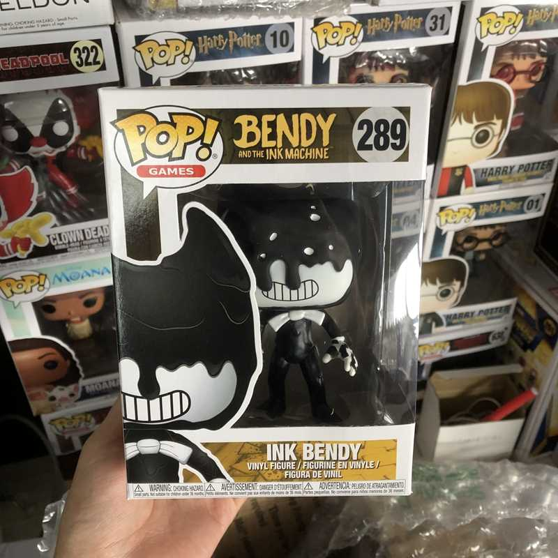 Oficial TINTA Bendy Funko pop Vinyl Action Figure Collectible Modelo Toy com Caixa Original