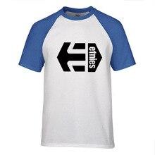 New Men's Fashion Short sleeve Skateboard Street ETN T Shirt Tops Cotton