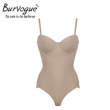 Burvogue Women Seamless Bodysuits Shapewear