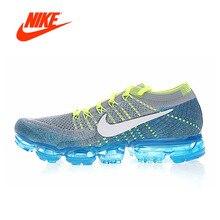 Оригинальный Новое поступление Аутентичные Nike Air Vapormax Flyknit Для мужчин кроссовки Спорт на открытом воздухе дышащие кроссовки 849558-009