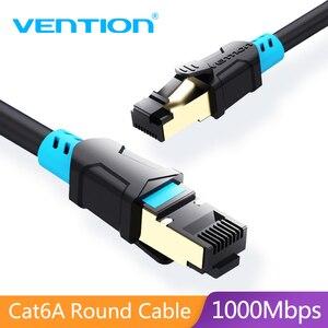 Image 1 - Vention Ethernet כבל CAT6 Lan כבל RJ45 תיקון כבל כבל מסוכך שזור רשת Ethernet עבור מחשב נתב כבל Ethernet