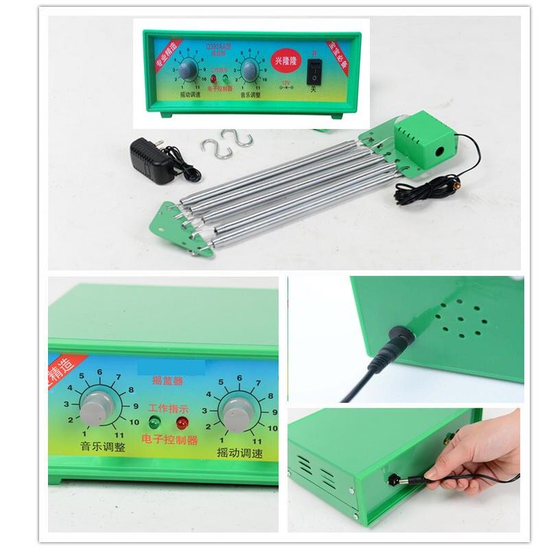 Conducteur électrique de berceau de contrôleur de berceau de bébé avec l'alimentation externe d'adaptateur Standard de l'allemagne - 3