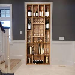 3D szafka do wina DIY naklejki na drzwi klej do pvc tapety Home naklejki dekoracyjne wodoodporne ścienne do salonu dekoracja sypialni
