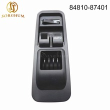 цена на sorghum New 84810-87401 Electric Master Power Window Switch For Toyota Daihatsu SIRION 1998-2001 OS TERIOS SERION YRV