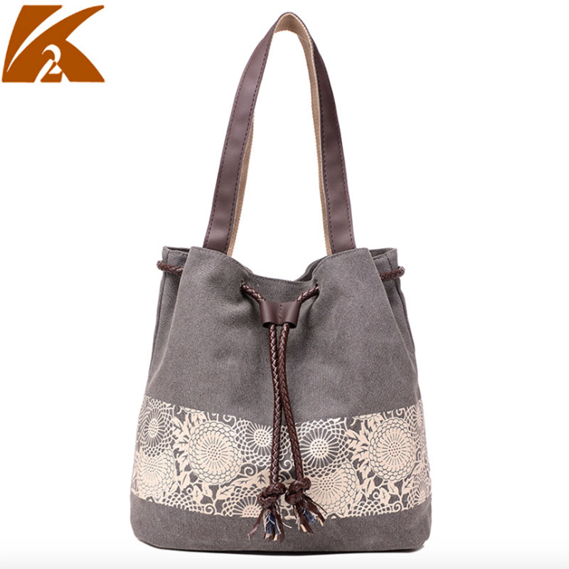 Leisure Large Tote Canvas Shoulder Bag Shopping Bag Beach Bags Tote Feminina