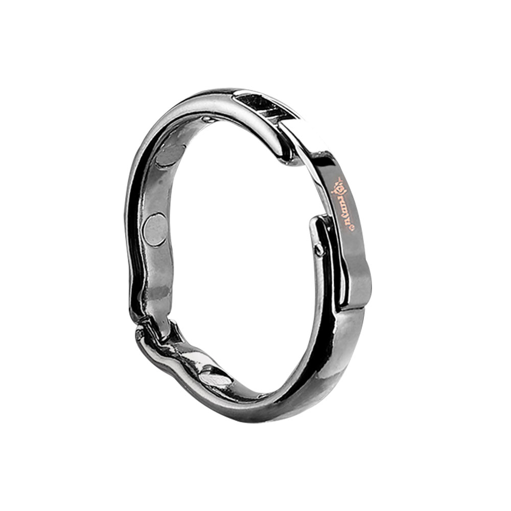 Dia adjustable size for choose Magnetic physiotherapy metal V type Circumcision erection penis cock Ring Sex Toy male
