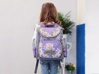 New Fashion School Bags Orthopedic Backpacks for Children Cartoon Animal Butterfly Prints High Quality Waterproof nylon Book Bag