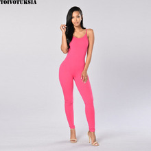 Womens Rompers Jumpsuit Women Sexy Tights Jumpsuits Solid Fitness Vintage Tanktop Playsuits