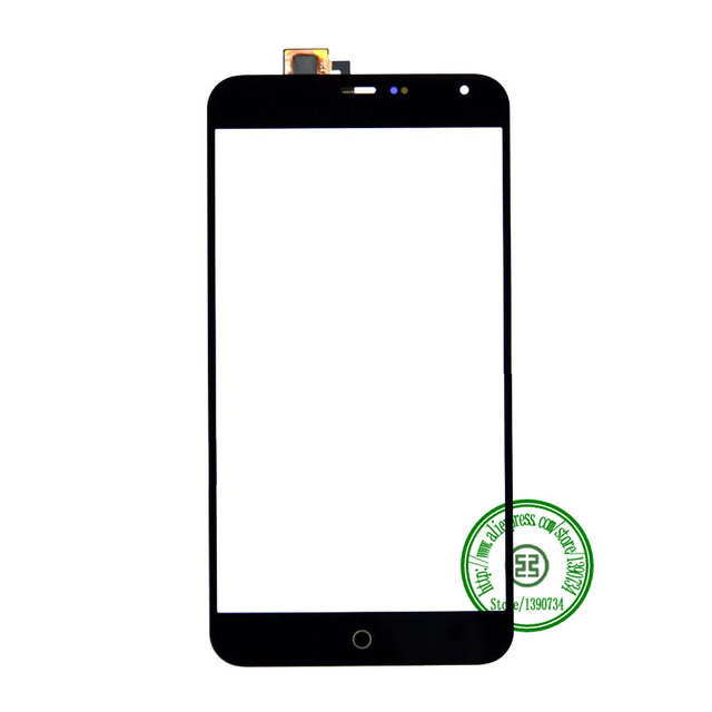 Top Quality Black Touch Screen Digitizer For Meizu MX4 Mobile Phone Sensor Outer Glass Panel Replacement