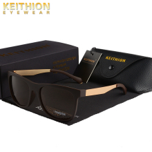 KEITHION Brand Fashion Square Polarized Classic Sunglasses Men Women Driving Style Sun Glasses Male Goggle UV400