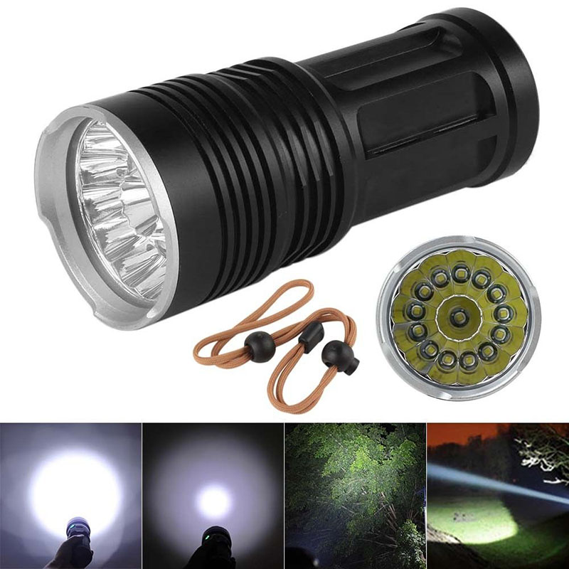 Super Bright XM-L T6 LED Hunting Flashlight 18650 Lamp Torch for Camping Bike Bicycle Light Camping Hiking Camp Tool 14t6 torch led flashlight 65000 lumens lamp lights 14 xm l t6 flash light floodlight camping lantern hunting 3x 18650 charger