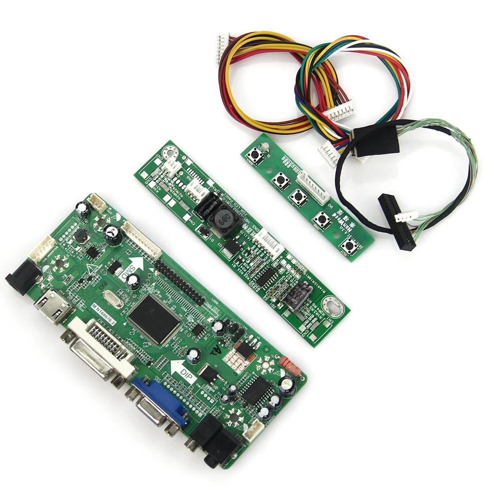M.NT68676 LCD/LED Controller Driver Board(HDMI+VGA+DVI+Audio) For LP133WX3-TLA6 LTN133AT09  LVDS Monitor Reuse Laptop 1280*800 hdmi vga 2av reversing lcd controller driver board with 6 2inch 800x480 hsd062idw1 lcd panel