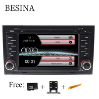 Besina Two Din 7 Inch Car DVD Player For AUDI A4 2002 2008 Canbus Radio GPS