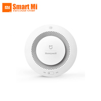 Original Xiaomi Mijia Honeywell Smart Fire Alarm Progressive Sound Photoelectric Smoke Sensor Remote Linkage Mihome APP