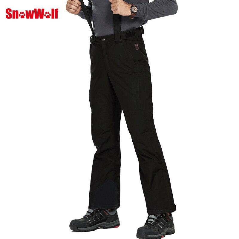SNOWWOLF 2019 Hommes D'hiver En Plein Air Ski Pantalon USB Infrarouge Chauffée Sports D'hiver Pantalon Électrique Thermique Snowboard Pantalons Imperméables - 4