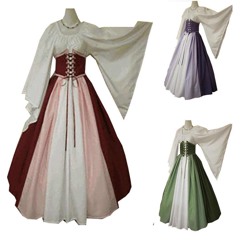 Women Princess For Irish Green Cosplay Robe Corset Dress 3xl Band Costume Wood Elf Belt Gown Ladies Renaissance Adult Cinchered nwvN8m0