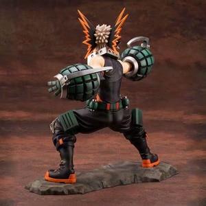 Image 4 - Il mio Hero Accademico Bakugou Katsuki Action Figure scala 1/8 figura dipinta Due Viso Fighting Ver. Bakugou Katsuki figura Giocattolo del PVC