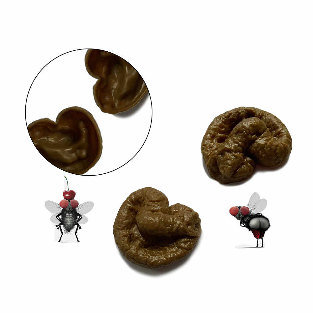 Baby Toys Realistic Mischief Novelty Joke Toys Fake Human Poop Pooper Trick Fun Turd Crap Funny Toys For Girl Boy