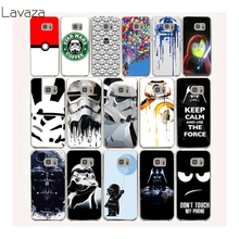 ФОТО star wars coffee stormtrooper hard transparent case cover for galaxy s3 s4 s5 & mini s6 s7 edge plus case cover