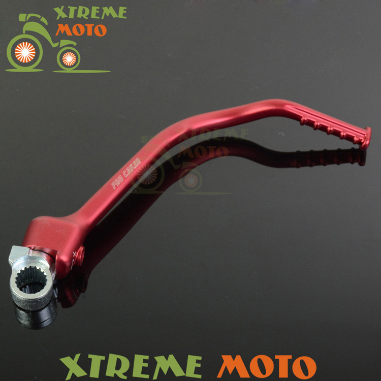 Forged Kick Start Starter Lever Pedal For Honda CRF250R 12 13 14 15 16  Motocross Enduro Motorcycle Dirt Pit Bike Off Road cnc gear shifter shift lever 7108 for crf250r 04 09 crf250x 04 09 crf450r 02 motorcycle motocross mx enduro dirt bike off road
