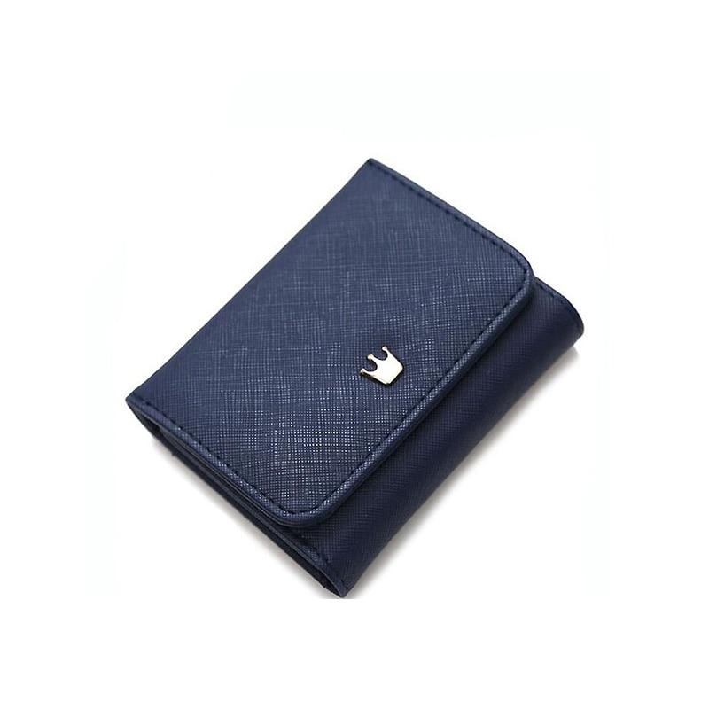 Short Wallet Thin Purse Women Wallet Korean Version Of The Crown Female Students MINI Card Purse Folder Wallets A3632 маленькая сумочка korean style 2015 crown 0155