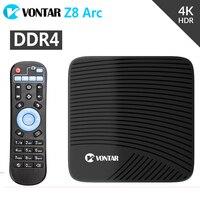 Z8 Arc 3GB/32GB Android 7.1 Smart TV Box 4K Amlogic S912 Octa Core DDR4 2.4/5GHz Dual WIFI BT4.1 pk M8S Pro l Media Player TVbox