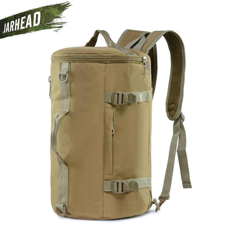 9 цветов большой емкости для мужчин и женщин Спорт путешествия тренажерный зал Военная Тактическая альпинистская кемпинг рюкзак ведро на плечо спортивная сумка мужская